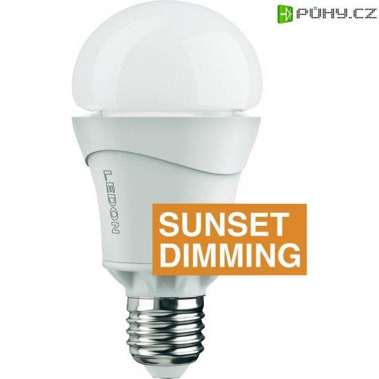LED žárovka Ledon A65 Sunset, 28000012, E27, 10 W, 230 V, stmívatelná, teplá bílá - Kliknutím na obrázek zavřete