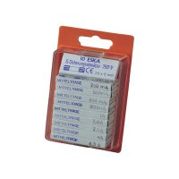 Jemná pojistka ESKA středně pomalá MITTELTRAEGE 121.800, 5 mm x 20 mm, 100 Parts