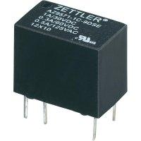 Subminiaturní Print relé Zettler Electronics AZ9571-1C-12DE, 1 A , 60 V/DC/125 V/AC 30 V/DC/1 A, 60 V/DC/0,3 A, 125 V/AC/0,5 A