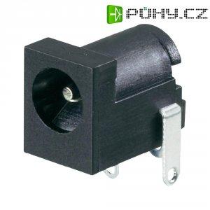 Napájecí konektor, 3 A, zásuvka vestavná horizontální, 4,2/6,3 mm