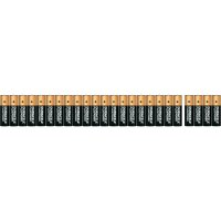 Sada alkalických baterií Duracell, typ AA, 20 ks + 4 zdarma