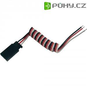 Prodlužovací kabel Modelcraft, konektor Futaba, 25 cm, 0,14 mm²