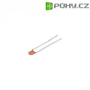 Kondenzátor keramický, 220 pF, 500 V, 10 %, 5 mm