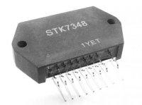 STK7348 - řídící obvod impulsního zdroje