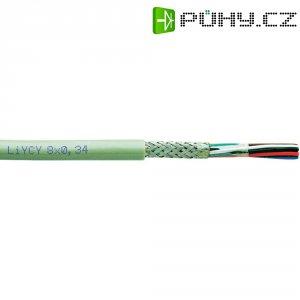 Řídicí kabel Faber Kabel LIYCY (030558), 9 mm, 250 V, stíněný, šedá, 1 m