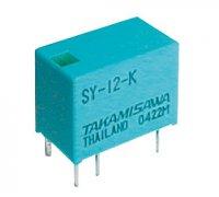 Relé 24V 0.5A/125VAC 1x přep. SY-24-K
