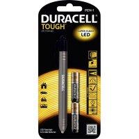 Tužková LED svítilna Duracell Tough PEN-1, V00691, stříbrná/černá