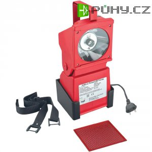 Nouzový ruční LED reflektor AccuLux JobLux PowerLED Focus 452541, červená