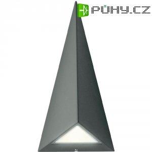 Venkovní nástěnné LED svítidlo Philips 17247/93/16, 2x 2,5 W, antracit