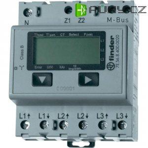 Třífázový elektroměr Finder 1500A M-Bus, na DIN lištu