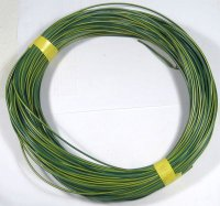 Vodič-lanko 0,75mm2 zeleno-žlutý , balení 100m