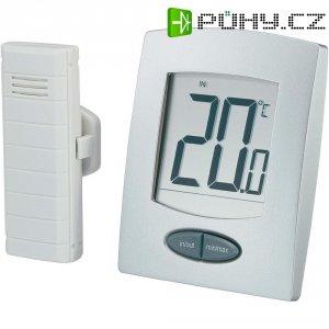 Bezdrátový teploměr WS-9008 s ukazatelem vnitřní a venkovní teploty