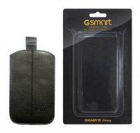 Pouzdro Gigabyte kožené pro GSmart ROMA R2, GSmart Maya M1, TUKU, AKU a GS202