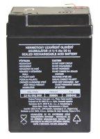 4V baterie (akumulátor) ke svítilně P2306