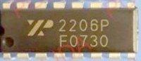 XR2206P generátor funkcí, DIP16 /EXAR/