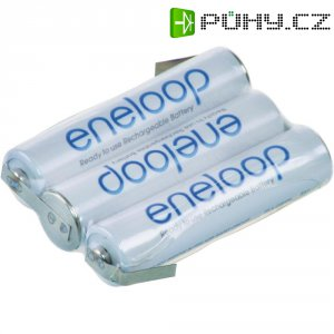Akupack Ni-MH 3 AAA Panasonic eneloop Reihe F1x3 129674, 750 mAh, 3.6 V