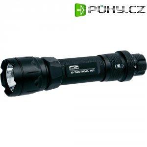Kapesní LED svítilna LiteXpress X-Tactical 101, LXL439001, černá