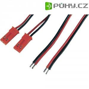 Napájecí kabel Modelcraft, BEC zásuvka, 0,14 mm², 1 pár