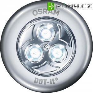 Bodové LED svítidlo Osram DOT-it Classic, stříbrná
