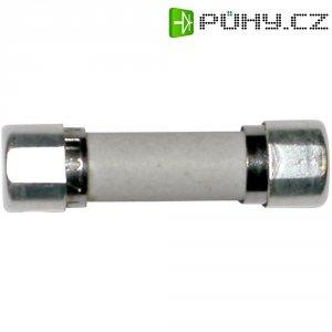 Jemná pojistka ESKA pomalá 8522727, 250 V, 10 A, keramická trubice, 5 mm x 20 mm
