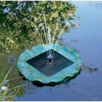 Solární ostrůvek s fontánou a osvětlením Solar Trend, 150 l/h, 0,5 m