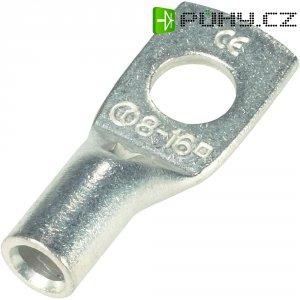 Trubkové kabelové oko Vogt 3412A, 180°, M10, 6 mm², Ø: 10,5 mm