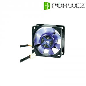 PC ventilátor, Noiseblocker BlackSilentFan XR1, 6 cm