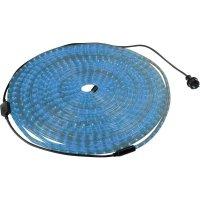 Světelná hadice s LED Rope Light, 10 m, modrá