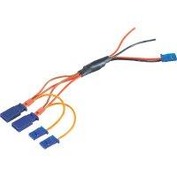 Napájecí kabel Modelcraft, 2 serva, 2 kanály, Futaba