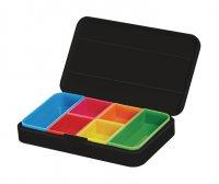 Krabička na léky černá VITILITY VIT-90610050