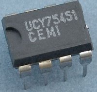 75451 - 2x driver AND TTL, DIP8 /UCY75451/