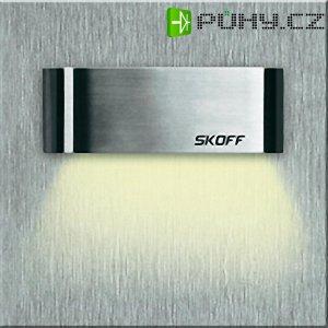 Vestavné LED osvětlení SKOFF Tango Short, 10 V, 0,8 W, teplá bílá, nerez
