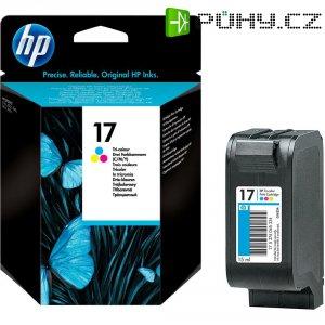 Toner do tiskárny HP C6625A (17) barevná