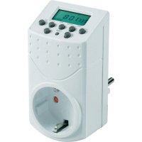 Spínací zásuvka s časovačem GAO, EMT446, 1800 W, IP20, digitální, týdenní