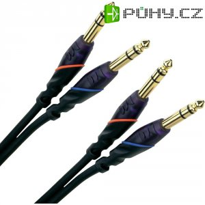 Kabel Monster 2x stereo jack (M) 6,3 mm / 2x stereo jack (M) 6,3 mm, 2 m