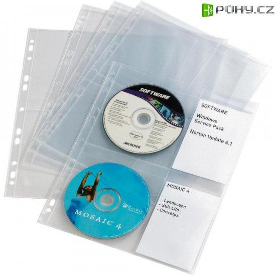 Obaly na CD/DVD se zasuvacími boxy - Kliknutím na obrázek zavřete