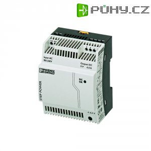 Zdroj na DIN lištu Phoenix Contact STEP-PS/1AC/5DC/6.5, 5 V/DC, 6,5 A