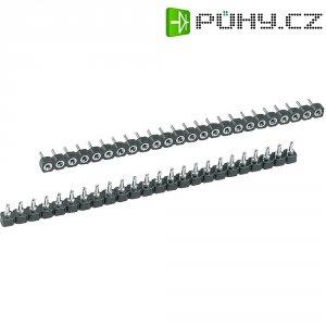 IO lišta W & P Products 186-40-1-50-00, 40pólová, 2,54 mm