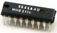 MHB2114 - MNOS RAM 1024x4bit, DIP18