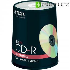 TDK CD-R80 700MB 52X 100 ks cake box