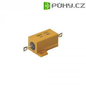 Rezistor ATE Electronics, axiální vývody, 6,8 Ω, 25 W