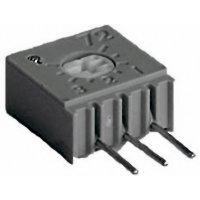 Cermetový trimr TT Electro, 2094612400, 50 kΩ, 0,5 W, ± 10 %
