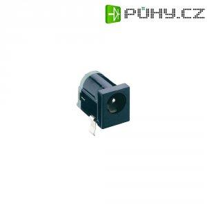 Napájecí konektor Lumberg 1613 18, Rozpínač, zásuvka vestavná horizontální, 6,3 mm