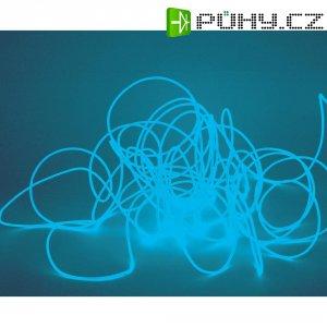 Elektroluminiscenční kabel, Ø 2 mm, 10 m, světle modrá