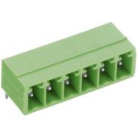 Svorkovnice horizontální PTR STL1550/6G-3.5-H (51550065001E), 6pól., zelená
