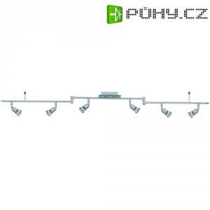 Lištový systém svítidel, Nice Price, 6x 50 W, GU10, stříbrná