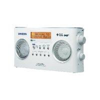 DAB+ rádio Sangean DPR-25+, FM, bílá