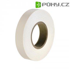 Izolační páska HellermannTyton HelaTapeFlex 15, 710-00116, 15 mm x 25 m, bílá