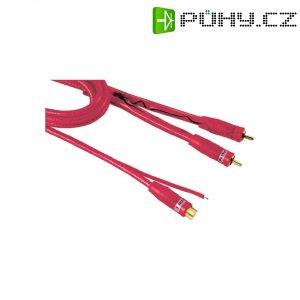 Cinch kabel Hama, 0.5 m, 2 x Cinch zástrčka ⇒ Cinch zásuvka, červený