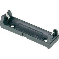 Držák na baterie AA Keystone, 15 x 59 x 16 mm, černá